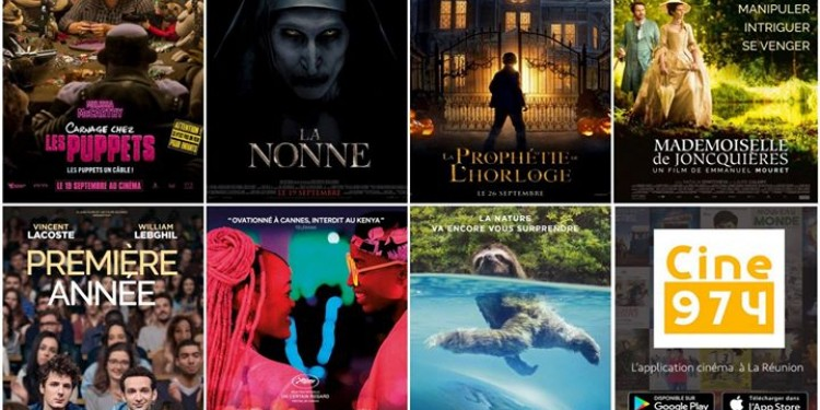 Les sorties #cinema du mercredi 26 septembre à #LaReunion 🇷