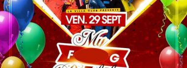 My F* Birthday * 29/09 - Dj Yaya & Nicky Larson * La Villa