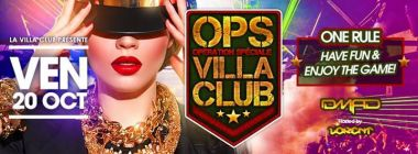 OPS Villa Club - Dj D. Mad