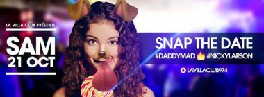 Snap The Date - SAM 21/10 - Dj D.Mad & Nicky Larson