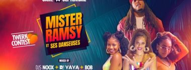 MISTER RAMSY Showcase - Sam 14.09 - La Villa Club