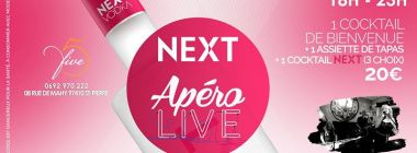 NEXT Pink Apéro live - Vendredi 29 Septembre au Five
