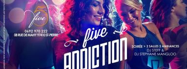 Five addiction - Samedi 21 Octobre