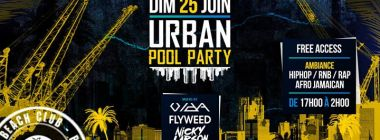 Urban PoolParty Dim 25/06 Mixed by Vida, Fly, Nicky & Mc Lorent