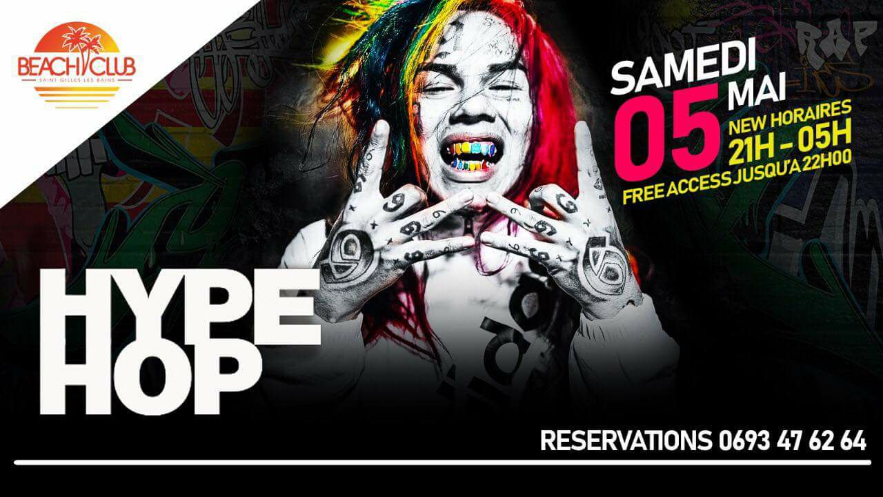 Hype Hop à Beach Club le samedi 05 mai 2018 - Night974 104d67a54729