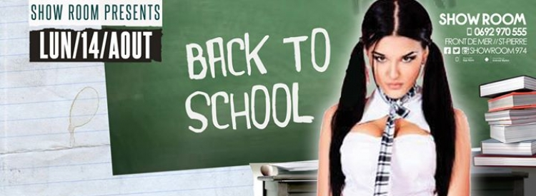 Back to School - Lundi 14 Août au Show Room