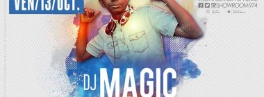 Dj Magic Birthday - Vendredi 13 Octobre au Show Room