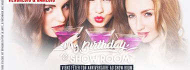 My Birthday au Show Room - Réservations : 0692 970 555