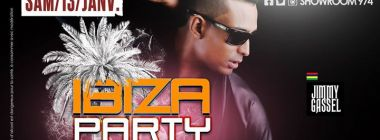 Ibiza Party (guest Jimmy Gassel) - Sam. 13 Janvier au show Room