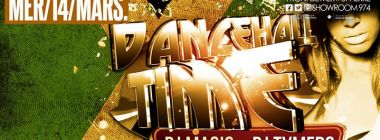 Dancehall Time (guest Dj Tymers) - Mercredi 14 Mars au Show Room