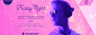 Friday Night Fever avec Dj Nite et Antwan Dago