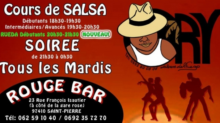 Cours Salsa Rueda et Soiree Ory Maree